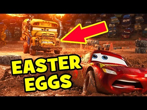 Cars 3 EASTER EGGS & Pixar Theory