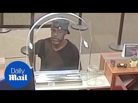 Bank robber demands money using note with his name and address on it