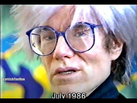Andy Warhol - Death Report - British News 1987