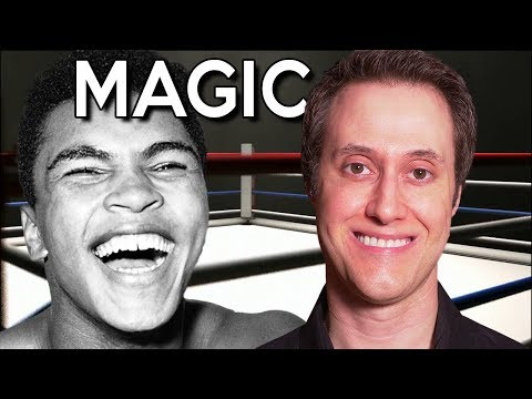 Muhammad Ali Was a Magician- TRUTH REVEALED!