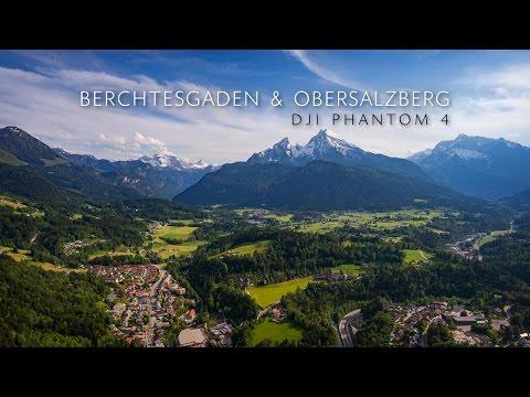 Berchtesgaden & Obersalzberg | DJI Phantom 4 Drone 4K | Cloud Surfing | 2016 & 1945