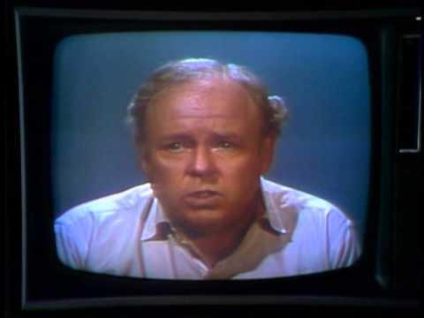 Archie Bunker's Editorial on Gun Control
