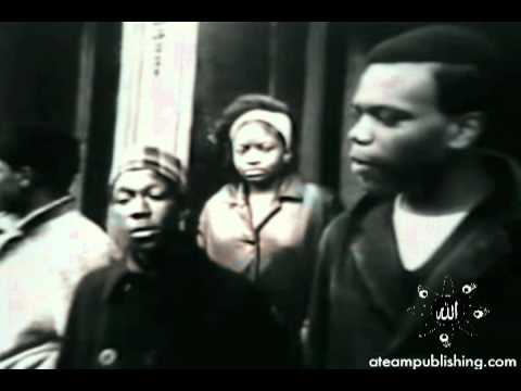 5 Percenters historic interview in Harlem (Mecca) about the Vietnam War. (1967)