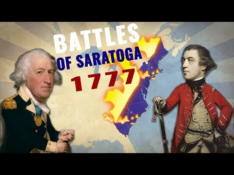 How was American Revolutionary War won: The Battles of Saratoga