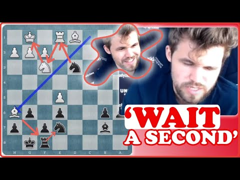 """This Is How Carlsen Calculates """"Complicated"""" Position 
