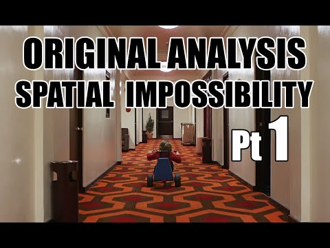 Film psychology THE SHINING spatial awareness and set design 1of2