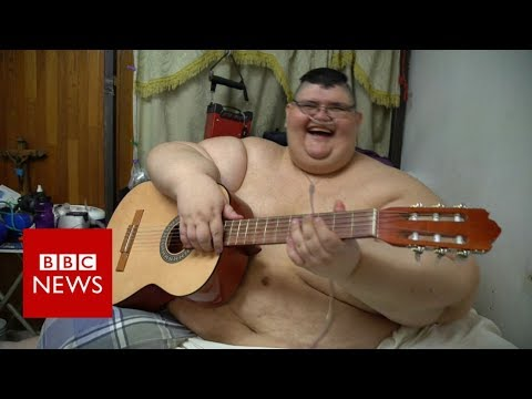 The Heaviest Man alive's attempt to lose weight - BBC News