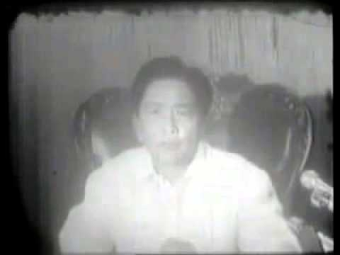 Declaration of Martial law in the Philippines Sept. 21, 1972