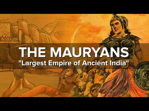 The Largest Empire of Ancient India | Mauryan Empire
