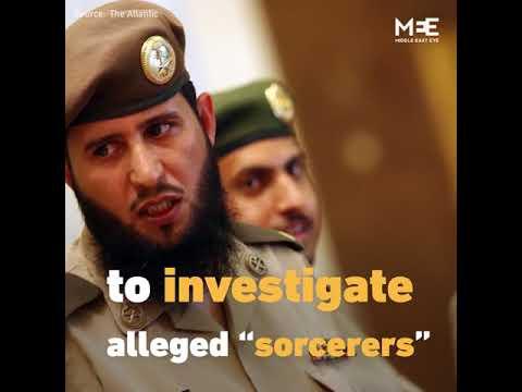 """A """"Sorcerer"""" In Saudi Arabia?"""