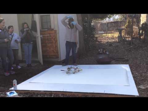 Artist Rosemarie Fiore Demonstrates her Process