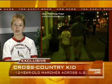 12-Year-Old Marches Across U.S.
