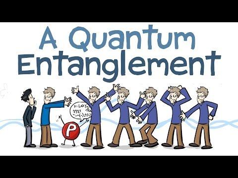 Quantum Entanglement Animated