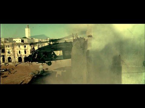 Black Hawk Down (2001) Super Six One |Black Hawk| crashing scene (1080p) HD
