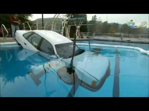 Can Adam Escape a Sinking Car? | MythBusters