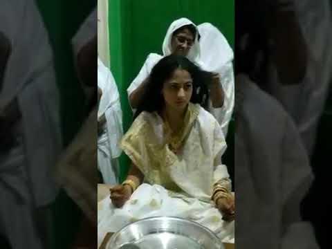 Kesh lunchan removal of hair Before JAIN Diksha