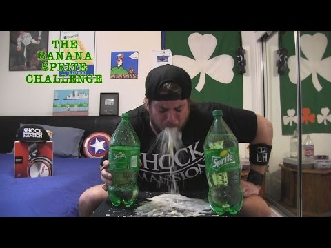 The Banana Sprite Challenge Goes Terribly Wrong (Ft. L.A. Beast)