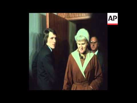 SYND 26 11 75 TRIAL TO THE CONCENTRATION CAMP GUARD AND NAZI WAR CRIMINAL HERMINE BRAUNSTEINER