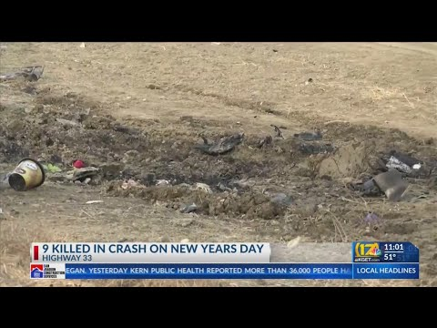 9 people, including 7 children, killed in fiery crash on Hwy 33 near Avenal