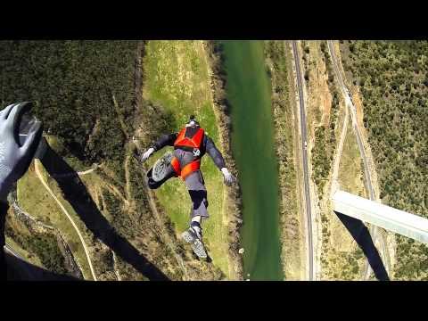 The French Slide - Epic BASE jump Viaduc de Millau