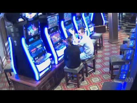 Video 0:18 CCTV footage of Paul Rossington and Kristen Schroder on the Carnival Spirit cru