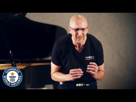 Longest continuous vocal note - Guinness World Records