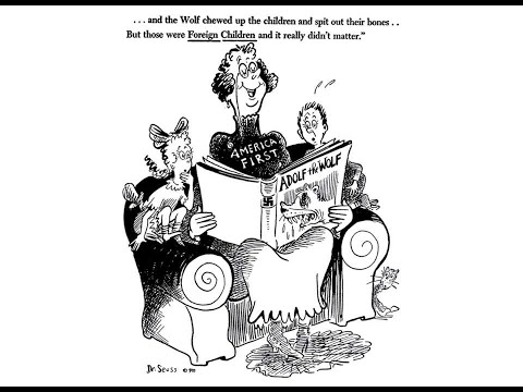 Dr. Seuss and WWII: Analyzing Political Cartoons