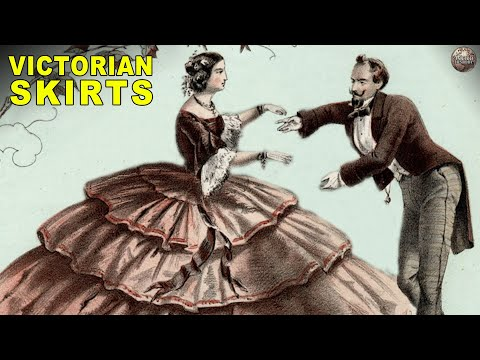 What Was Up With Those Giant Victorian Skirts?