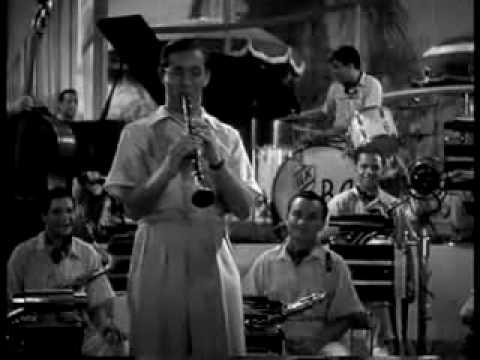 "Benny Goodman Orchestra ""Sing, Sing, Sing"" Gene Krupa - Drums, from ""Hollywood Hotel"" film (1937)"