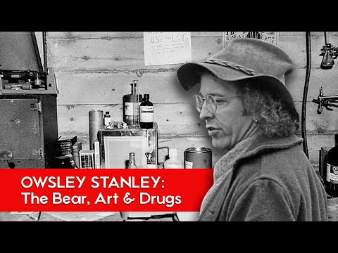 Owsley Stanley - Man who created 300,000 hits of Acid in his first year