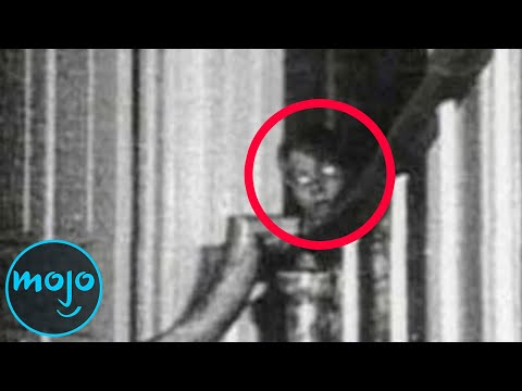 Top 10 Times Ghosts Were Actually Caught On Camera