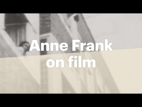 Anne Frank's only existing film images   Anne Frank House