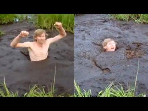 Incredible MAN Stucks in quicksand