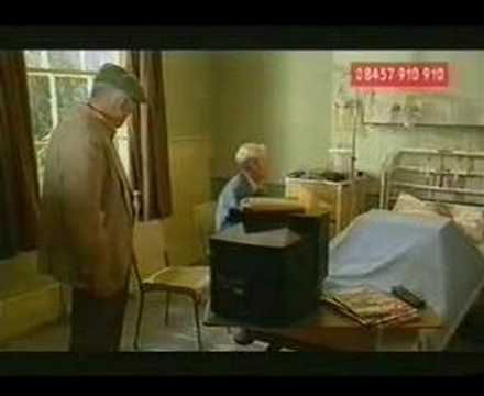 one foot in the grave:comic relief(2001)