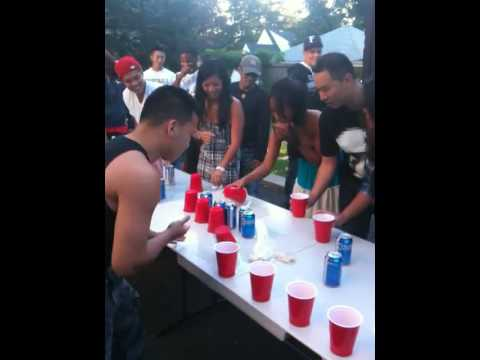 BEST FLIP CUP GAME EVER