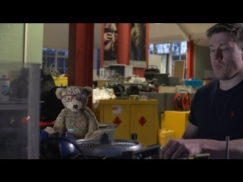 Making of Specsavers 'Stratosphere' advert 2015 #TeddyInSpace