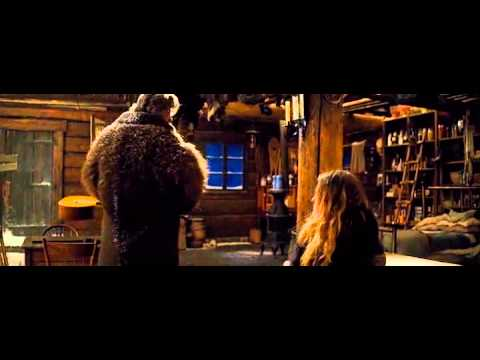 """Kurt Russell destroys 145 year old Martin guitar in """"The Hateful Eight"""""""