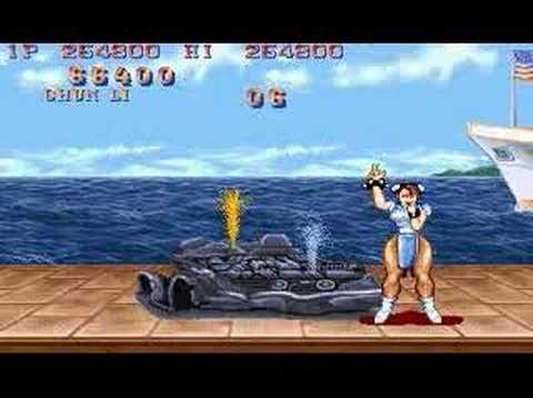 Street Fighter II Chun Li All Perfect 1/2
