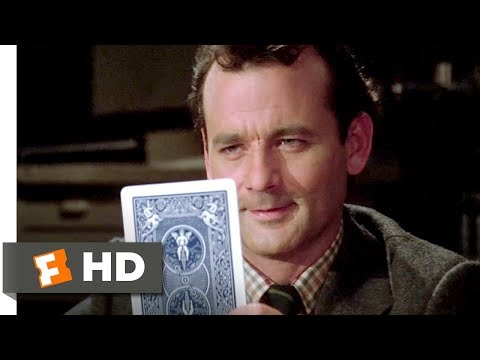 Ghostbusters (1/8) Movie CLIP - Venkman's ESP Test (1984) HD