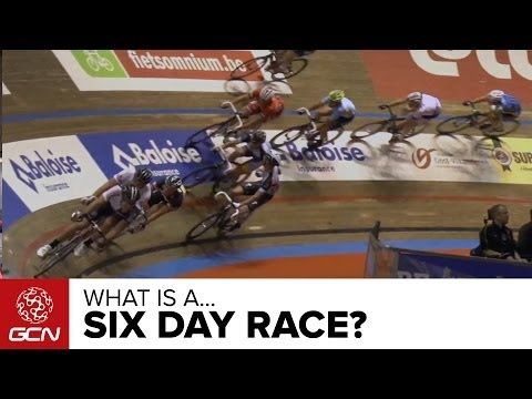 What Is A 6 Day Track Race?