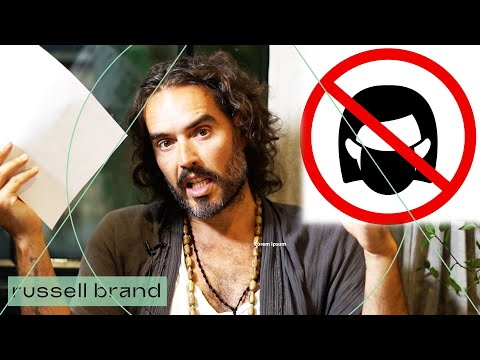 Masks: Necessary Protection OR Political Symbol? | Russell Brand