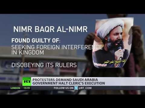 Saudi Arabia prepares to hang opposition Shia cleric amid large protests