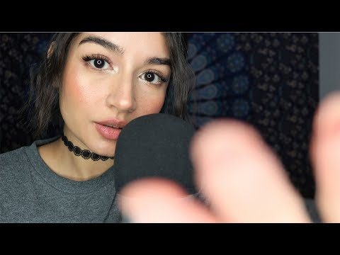 ASMR Tongue Clicking | Hand Movements & Personal Attention ♡