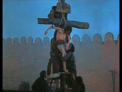 JESUS OF NAZARETH 1977 Descent from the Cross extended scene