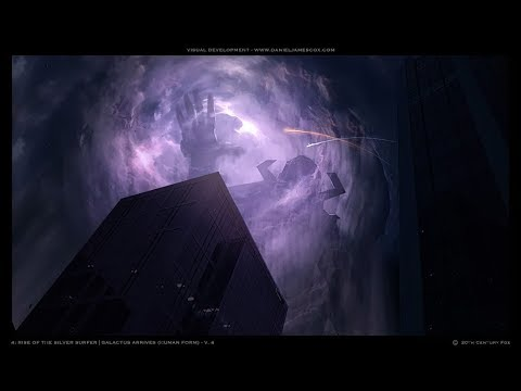 Fantastic Four The Rise Of The Silver Surfer: Galactus Screen-Time
