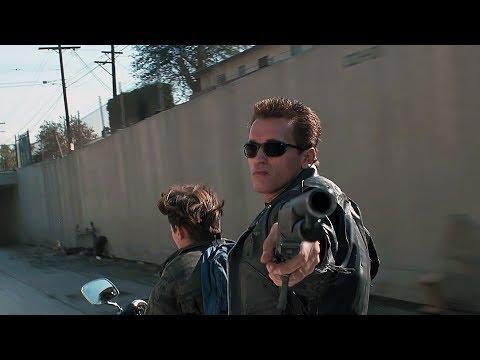 Truck-chase scene | Terminator 2 [Remastered]