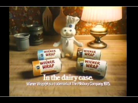 Pillsbury Wiener Wrap Commercial (1976)