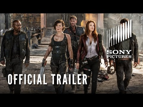 RESIDENT EVIL: THE FINAL CHAPTER - Official Trailer (HD)
