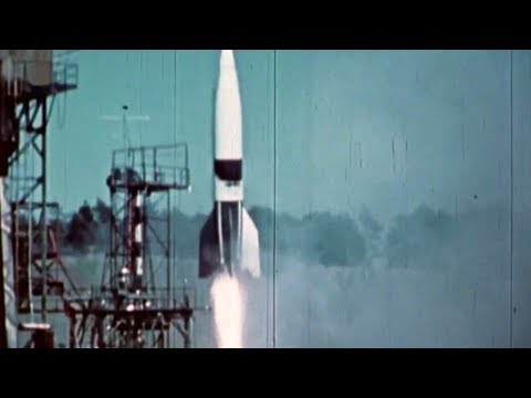 Original Footage of German V-2 Rocket Development Tests [HD]