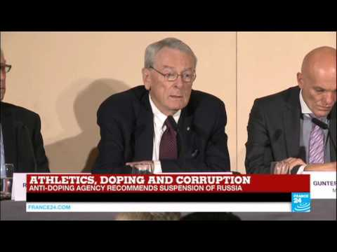 REPLAY - Watch World Anti-Doping Agency full press conference on banning Russian athletes